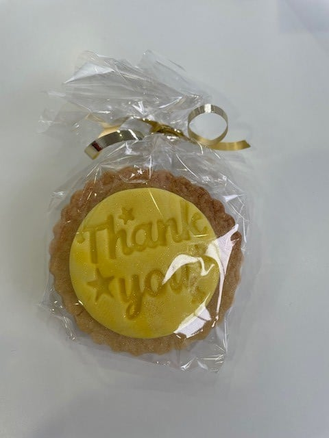 A massive thankyou to Alex and Ashley and their families who sent cakes for staff into school today. Definitely well received on a Friday! #Cake #Biscuit #Cookie #ThankYou #FridayFeeling