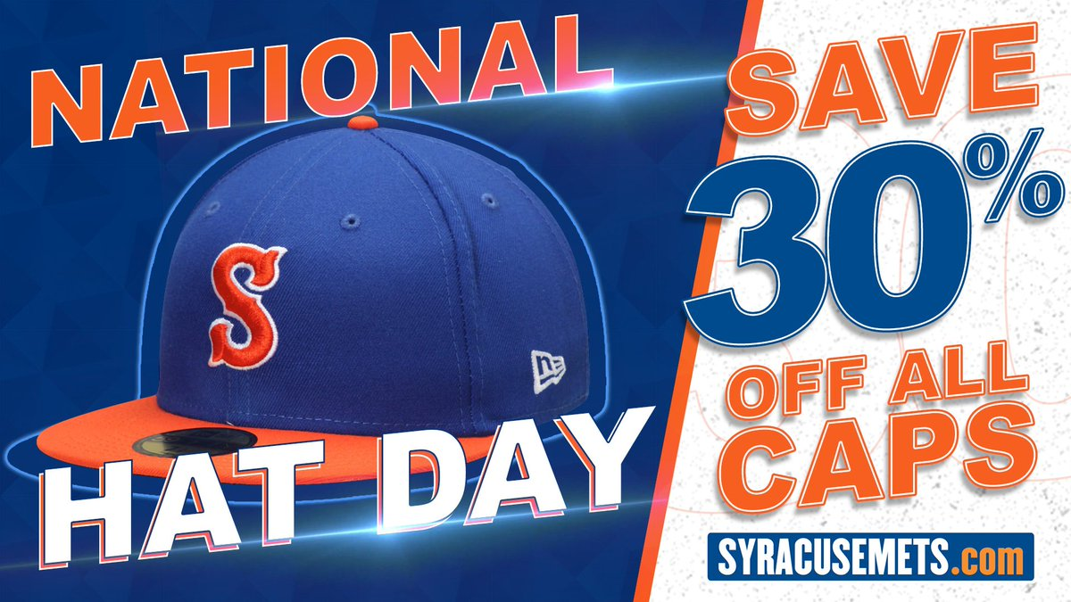 Today is #NationalHatDay and we're giving away one hat every few hours! All you have to do to enter is ❤️ this tweet and smack that RT button! Bonus points for telling us your favorite baseball player!   Plus, save 30% off ALL hats in our Team Store using code HATDAY21