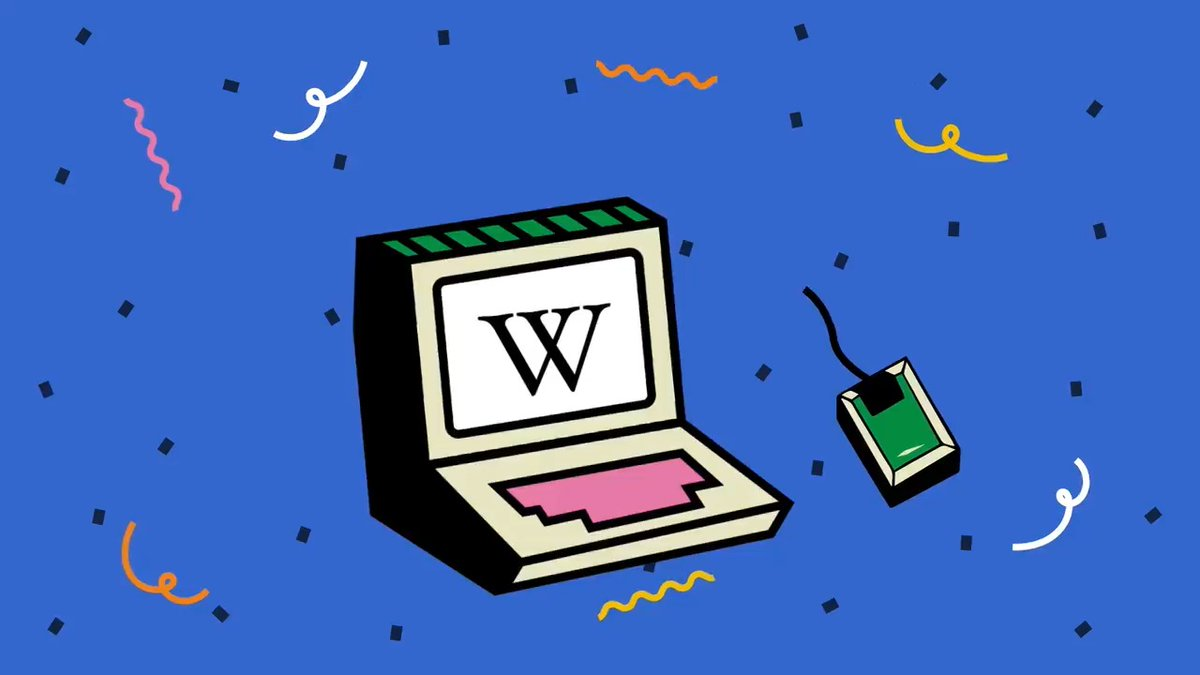 Wikipedia only exists through the power of human collaboration, creativity, and curiosity.   Thank you for 20 years! #Wikipedia20