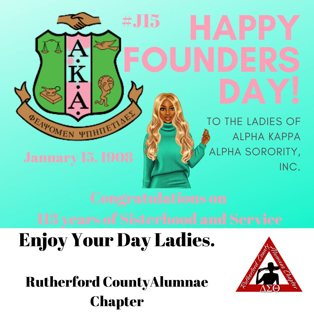 Celebrating Founders Day with real Sister Love!!! Congratulations on 113 years of  Sisterhood and Service .  #J15 #AKA1908 #DST1913 #AKA #DST #HFD #RCACDeltas