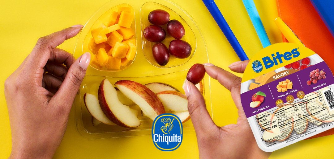 #FreshIntentions Challenge - Day5  Replace a sugary snack with a fruit  So we'd like to challenge you to replace sugary snacks with a healthy fruit like our Chiquita Bites!   So tell us; what sugary snacks are you giving up today? What are you replacing them with?