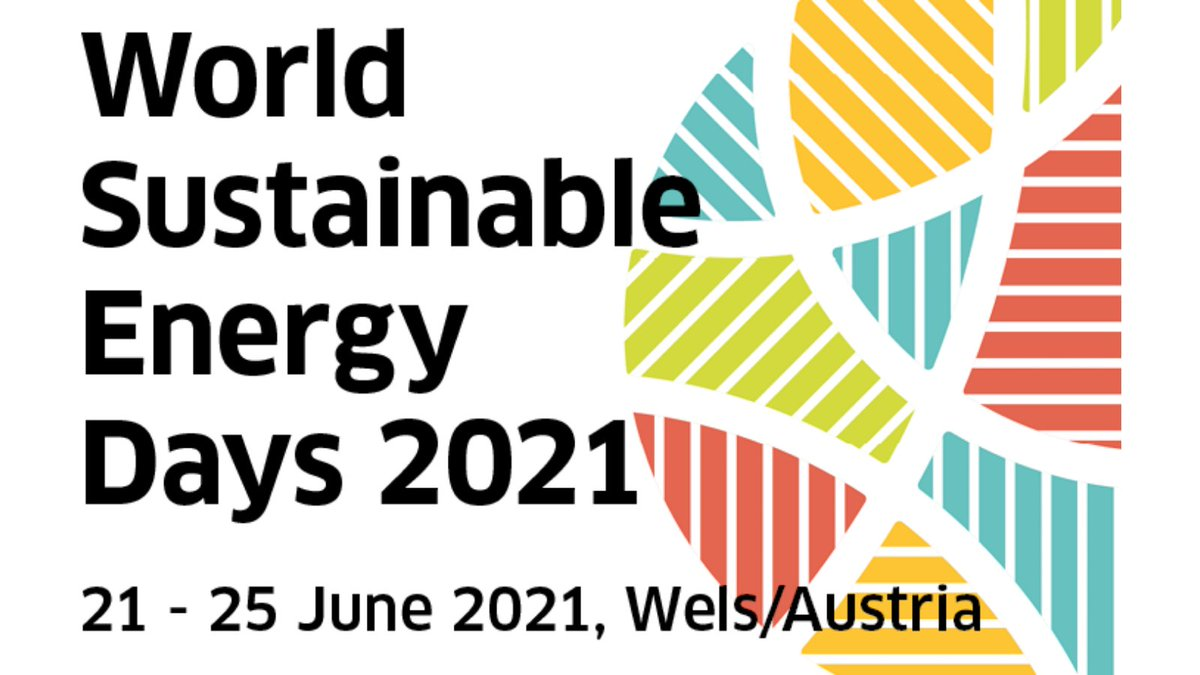⚠️The WSED 2021 is postponed⚠️  The annual #conference will be held in Wels/Austria from 21 to 25 June 💻  Despite new dates, the focal points and topics will be the same! Learn more 👉   #climate #greendeal #decarbonization #greenrecovery #energytransition