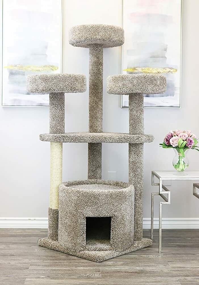 Prestige Cat Trees 130014-Neutral Main Coon Cat House Cat Tree  #gifts #giftideas #dog #cat #puppy #pets  #blackfriday #thanksgiving #cybermonday @amazon #amazon #primeday