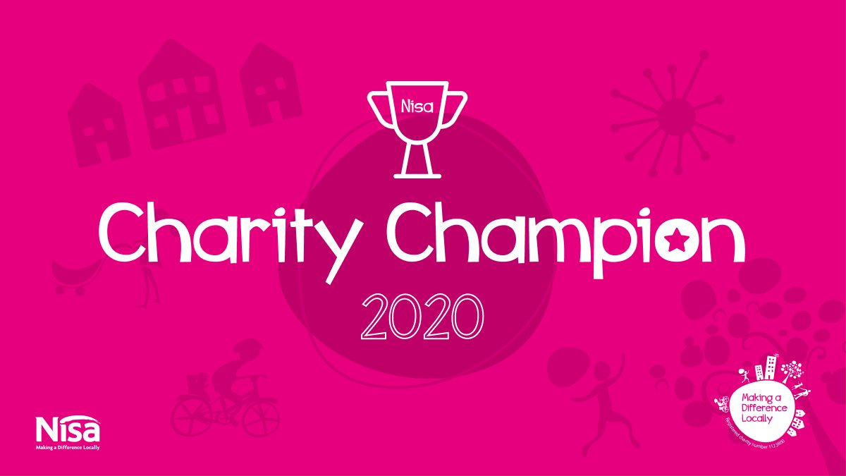 Throughout @NisaRetail head office we have lots of staff doing great work in their community, Today our 2020 Charity Champions have been named!  Congratulations to Eloise, Matthew, Lorraine and Gemma! #MakingaDifferenceLocally #CharityChampions #FridayFeeling