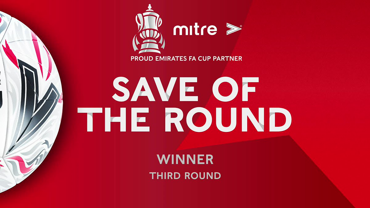 Introducing your @MitreSports Save of the Third Round winner, with an unbelievable stop from 6 yards!   @Only1Argyle's Michael Cooper 🧤🔥