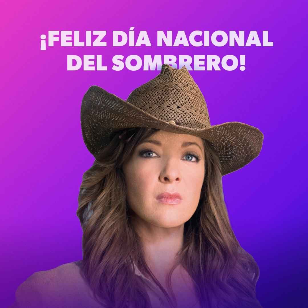 ¡Feliz Día Nacional del Sombrero! #NationalHatDay  No se pierdan la leyenda de la Doña 🤠 en #DoñaBarbara #sonycanalnovelas