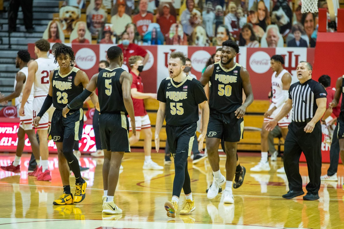 Purdue Boilermakers troll the Indiana Hoosiers after winning five consecutive games at Assembly Hall.