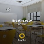 The Healthe AIR combines the germicidal properties of ultraviolet light and carbon activated filtration to improve air quality in indoor spaces. Learn more: https://t.co/euG1U8QikX  #Sanitization #HealtheInc #ThisIsHealthe #Schools #Chemicalfree