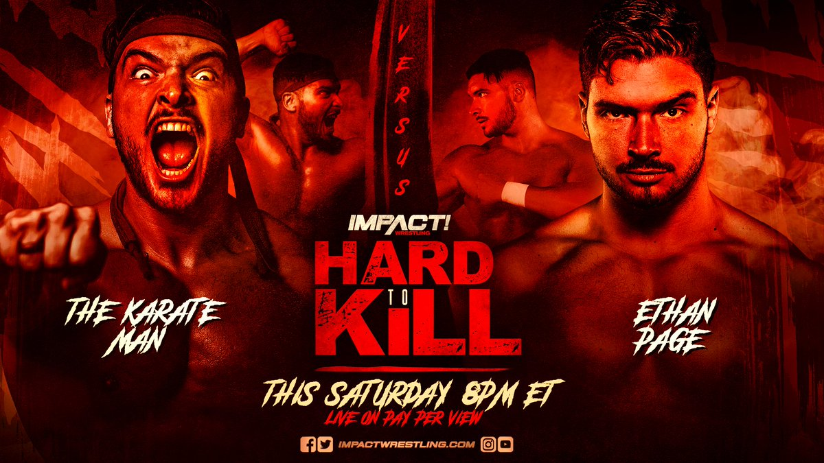 Can @OfficialEGO defeat @The_KarateMan TOMORROW at #HardToKill?   ORDER HERE: