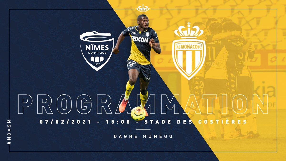 On connaît la date du match retour face au @nimesolympique  !  👊 𝑫𝒂𝒈𝒉𝒆 𝑴𝒖𝒏𝒆𝒈𝒖 👊  Pour plus d'informations 👉