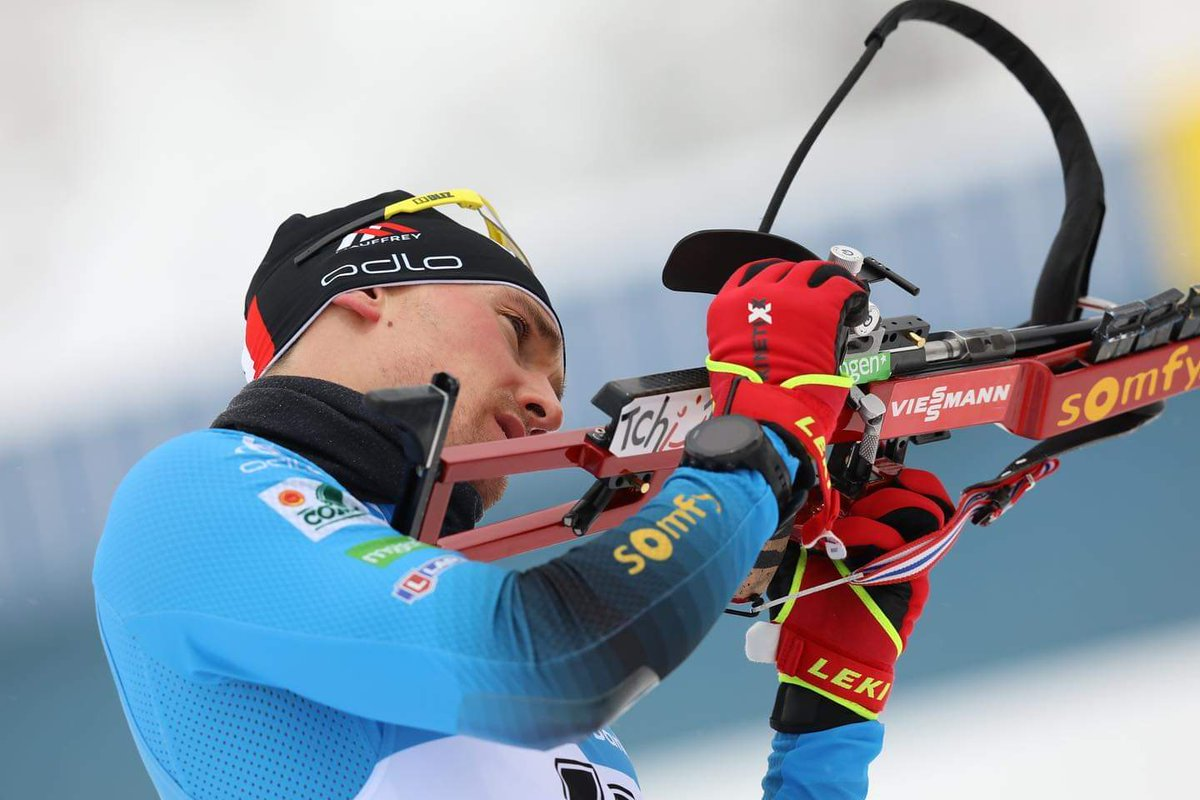 Biathlon. Fabien Claude est auteur d'un début de saison fracassant. Le Bassurois enchaîne les podiums en coupe du monde à Oberhof en Allemagne. https://t.co/ZZXQEMApf0