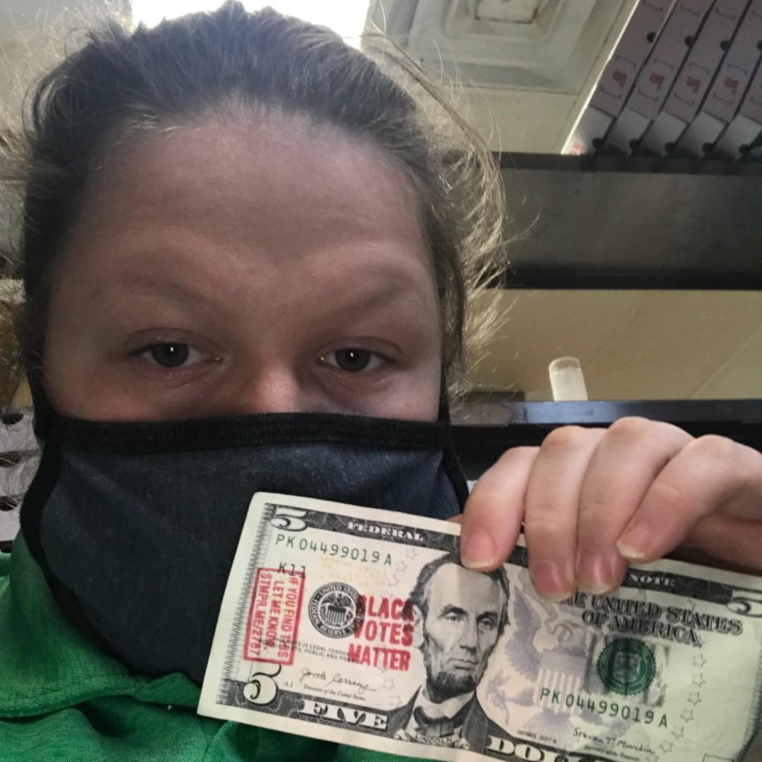 Found bill in #Arkansas! #StampStampede #MoneyOutVotersIn #BlackVotesMatter