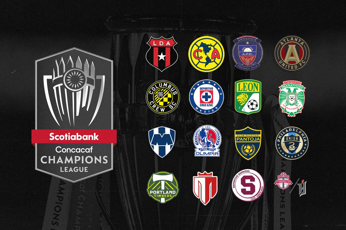 The field for Scotiabank Concacaf Champions League 2021 is nearly set! Who's raising the 🏆 this year?