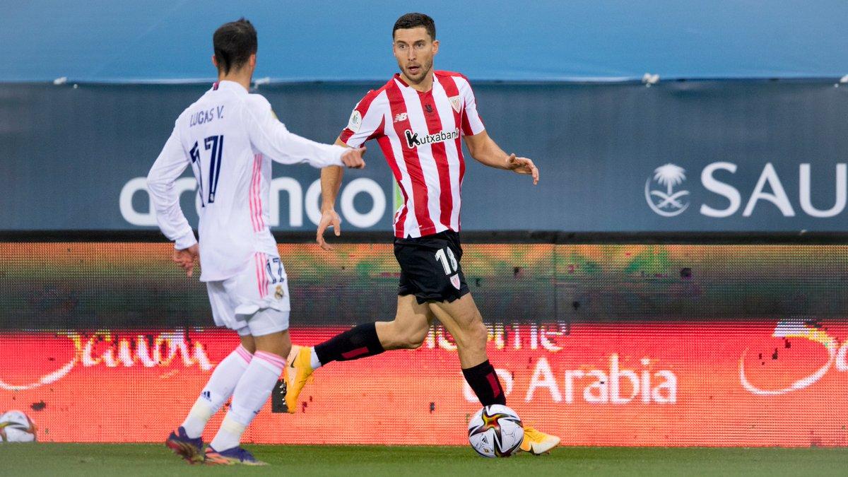 "🎙️ Óscar de Marcos has his sights set on the #Supercopa final:  🗣️ ""𝗡𝗼𝘄 𝘄𝗲 𝗵𝗮𝘃𝗲 𝘁𝗼 𝗺𝗮𝗸𝗲 𝘀𝘂𝗿𝗲 𝘄𝗲 𝗳𝗶𝗻𝗶𝘀𝗵 𝘄𝗵𝗮𝘁 𝘄𝗲'𝘃𝗲 𝘀𝘁𝗮𝗿𝘁𝗲𝗱.""  #BarçaAthletic #BiziAmetsa 💭"
