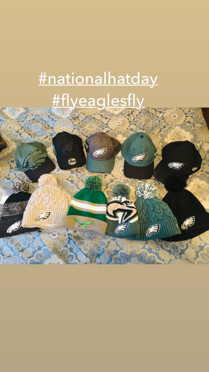 #nationalhatday #flyeaglesfly