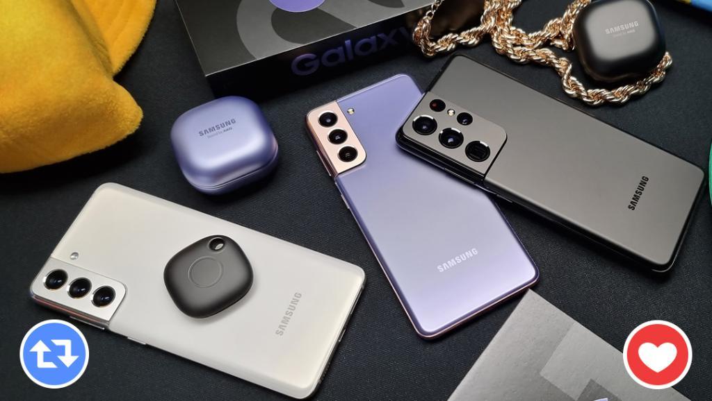 RT si aún estás alucinando con el Unpacked del #GalaxyS21 o Like si no dejas de pensar en los #GalaxyBudsPro. 🤩