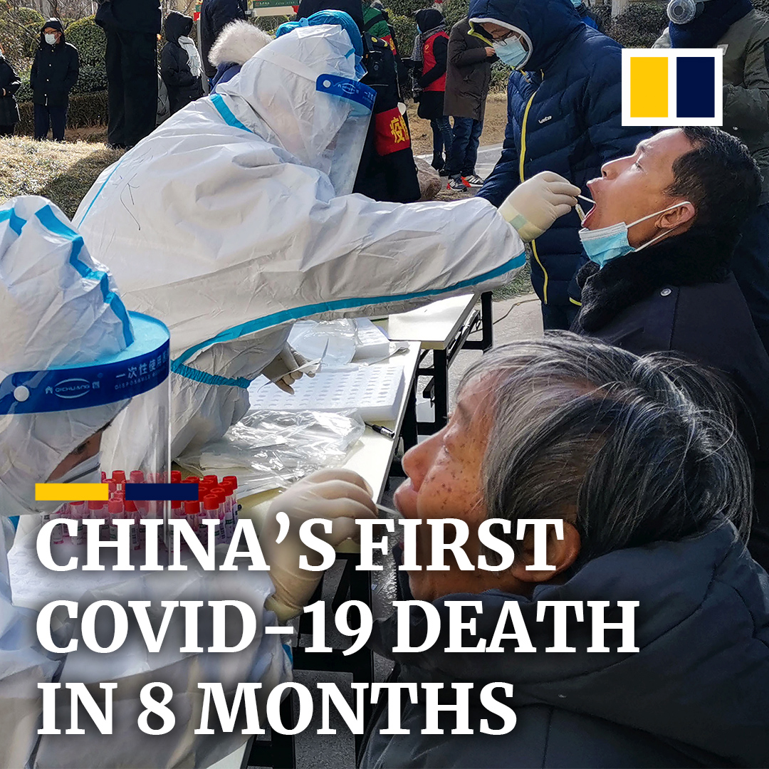 China is rushing to build a new quarantine facility after the country experienced its first coronavirus death in over half a year.