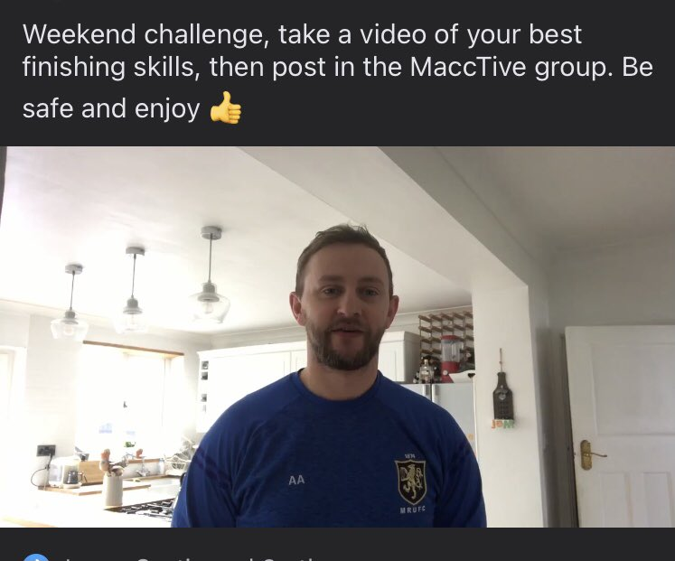 test Twitter Media - The MaccTive group is back in action, if your not in already and want to keep rugby active throughout the lockdown click the link and request to enter!   Lead Coach @andy_appleyard has today set a fun challenge for the young players! (Adults welcome too)   https://t.co/6OjjG5YLRM https://t.co/kSKpIyF5vy