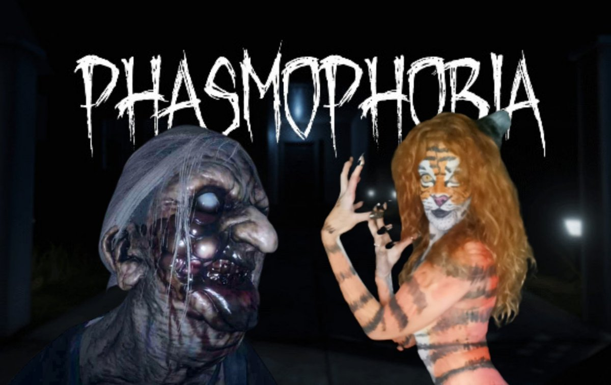 Tia the tiger plays some Phasmophobia & it goes horribly wrong 🤣🤣🤣  #tiathetiger #Phasmophobia #horror #scary #gaming #gamergirl #cosplay #occosplay