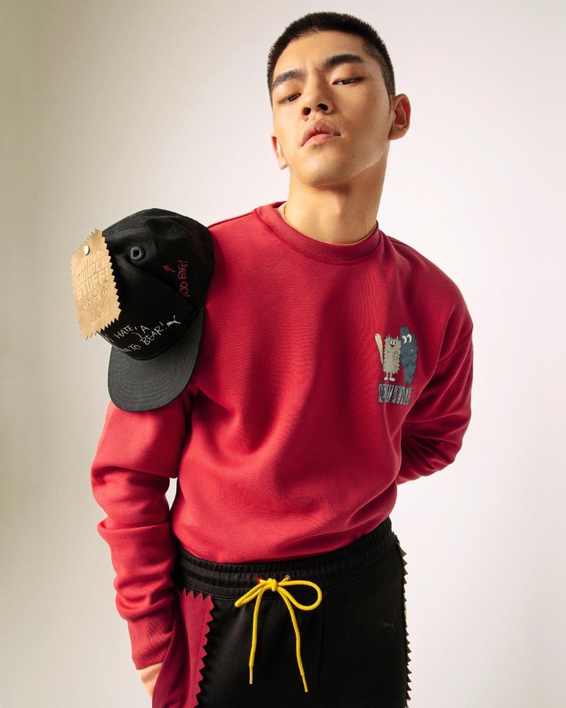 PUMA x Michael Lau. Whole collection drops tomorrow.