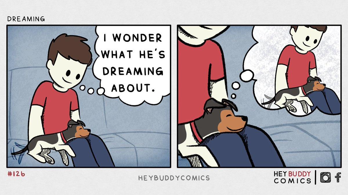 Replying to @kbuddyartist: dreaming