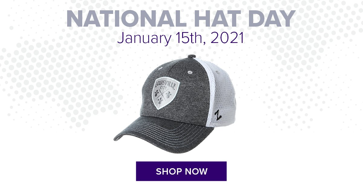 #NationalHatDay ft. your favorite club. 😏  SHOP: