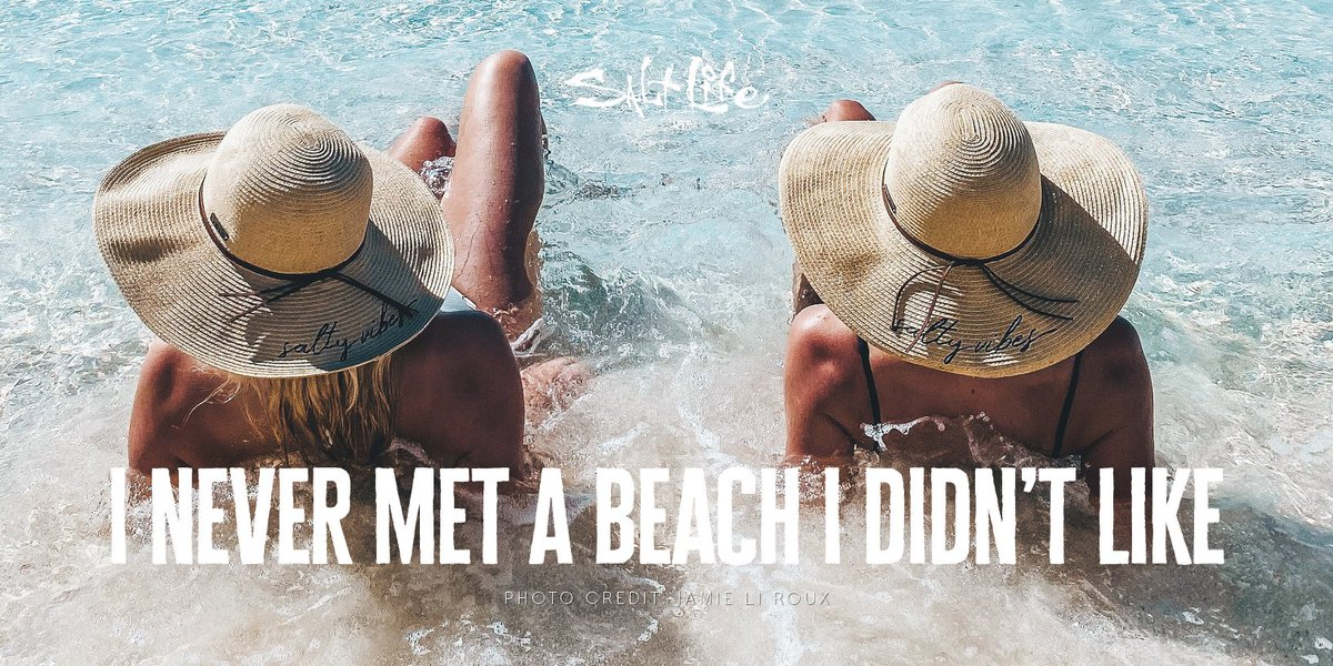I Never Met a Beach 🏖 I Didn't Like   Submit your Salt Life Fan Photo for a chance to be featured!!   #FanPhotoFriday #LiveSalty