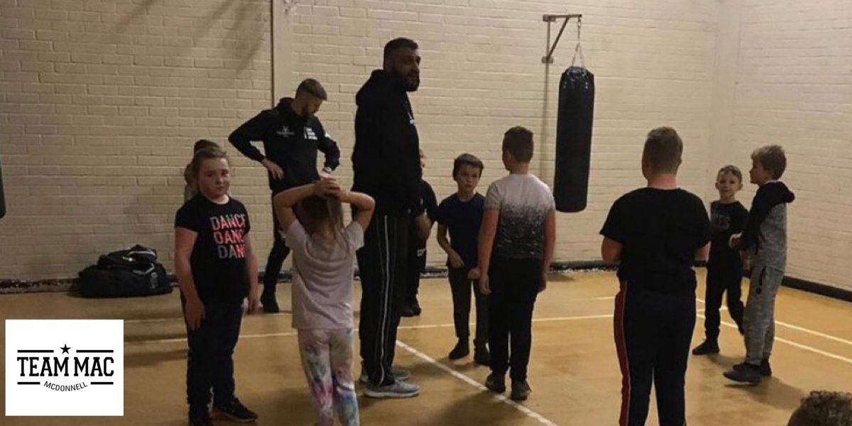 Happiness is ...  We'll be back 🥊🙌🏽  #teammacfoundation #communityboxing #stainforth #TripleS #sssnetwork #boxing #fightforgood @fightforgood1 #violencereduction @SY_VRU