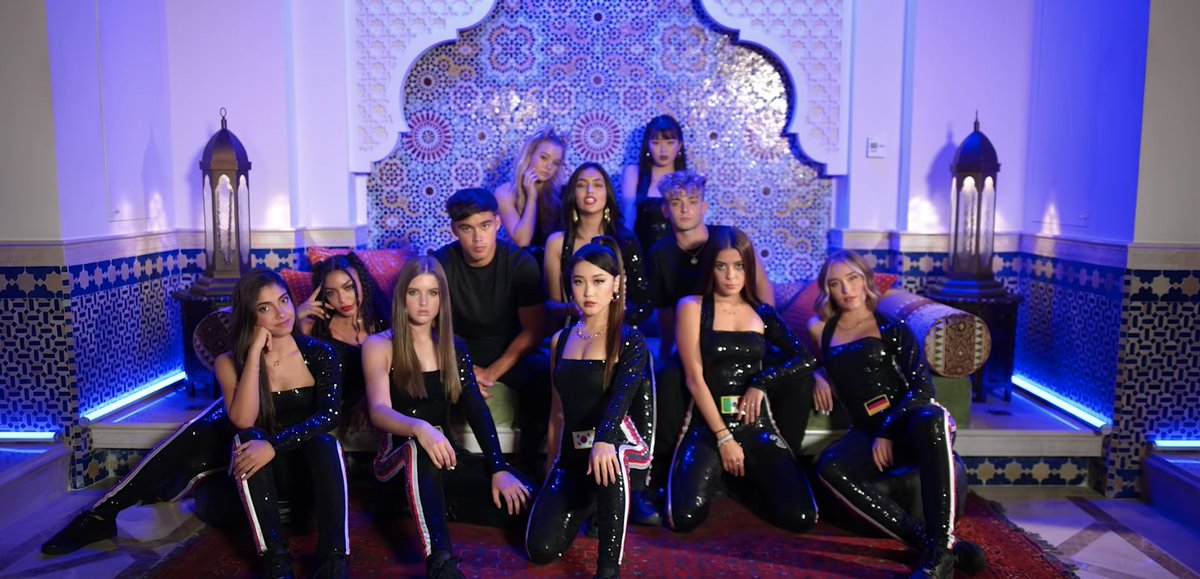 "The best part about @NowUnitedMusic's video for ""Lean On Me,"" is the entire 3 minutes and 7 seconds of it. 💜"