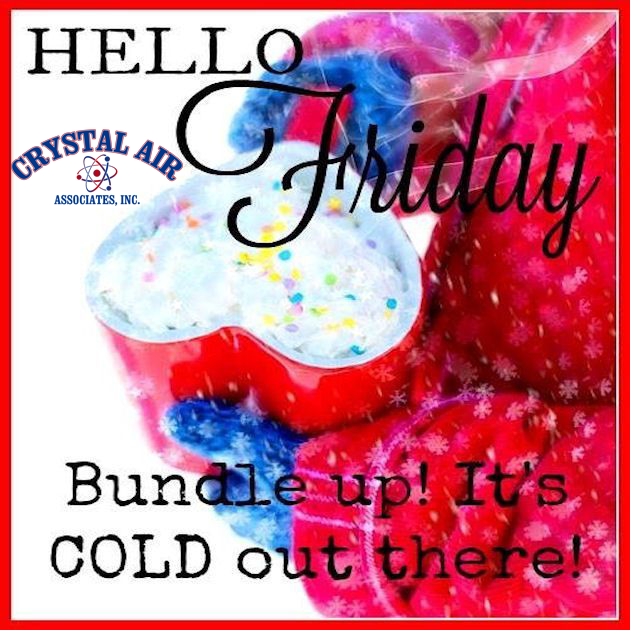 Happy Friday!! Stay warm! If you are not warm, give us a call! 732-303-9381 . . #heatingrepair#acrepair#marlboro #merrychristmas #happyhanukkah#freehold#carrier#monmouth#airconditioning#coltsneck#toocold#trane#heatingInstallation#carrier#airpurification#cleanair