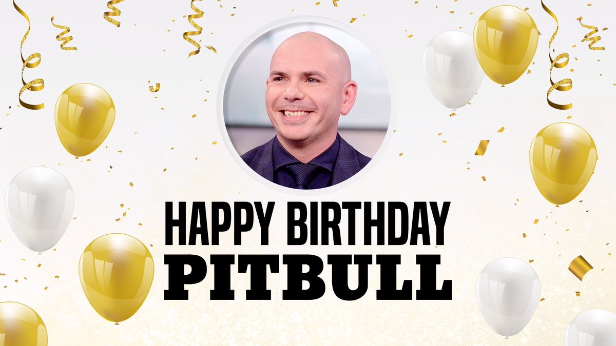 It's @pitbull's birthday! We're honoring the global superstar for his philanthropic efforts, including opening a charter school in Miami! Fun fact: SLAM (Sports Leadership and Management Academy) has a 95 percent graduation rate!