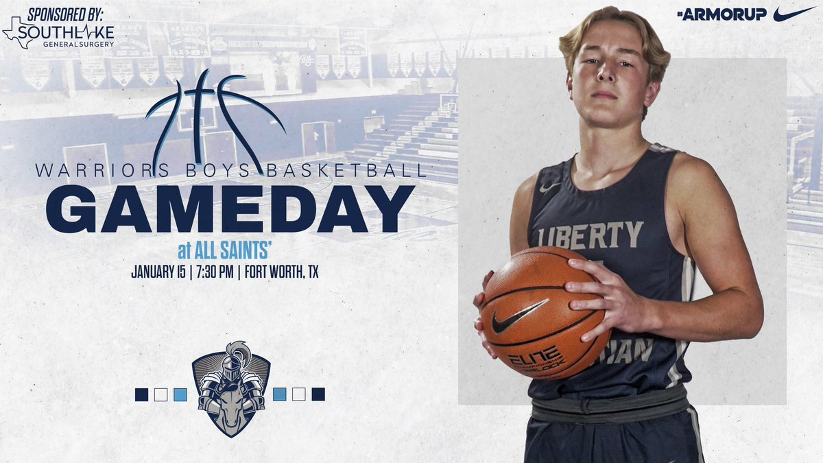 🚨GAMEDAY🚨 🏀@LCS_MBasketball  🆚 @PTFSaints_ATH  ⌚️ 7:30PM 📍 @PTFSaints_ATH    #ARMORUP   #FORHIM