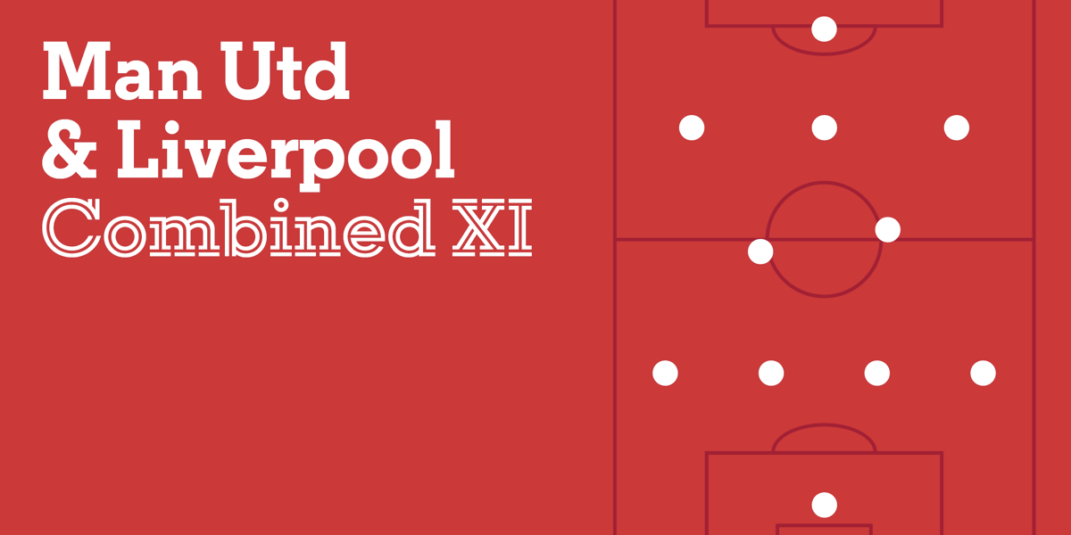 After much deliberation between our writers...   Here are the options - two per club - for each position (4-2-3-1) for an all-time Premier League combined XI of #MUFC & #LFC players.  Have your say and vote here... 👇  #LIVMUN