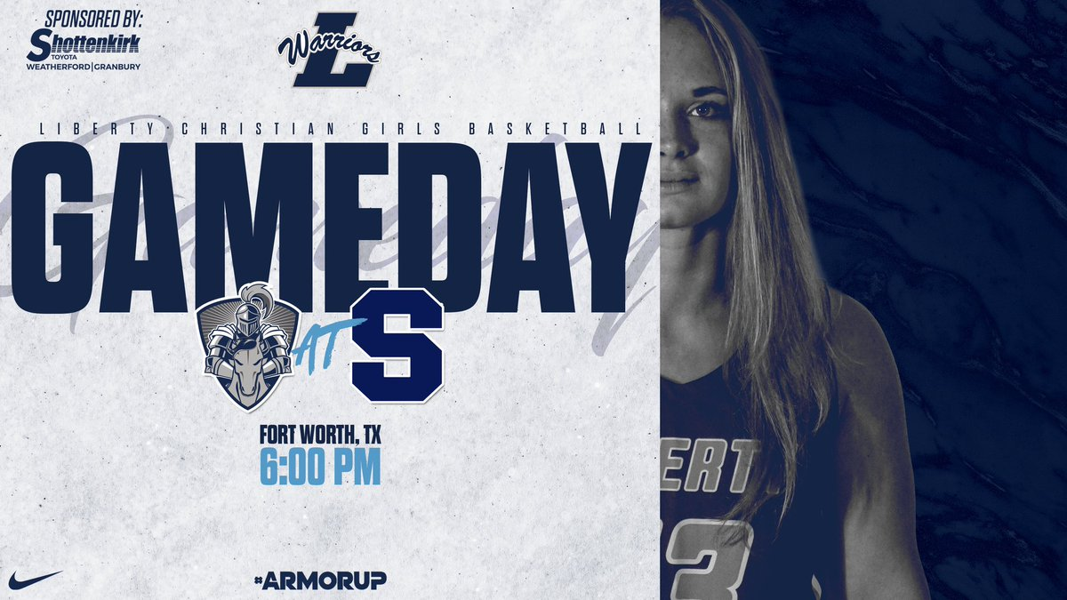 🚨GAMEDAY🚨 🏀@LCS_WBasketball  🆚 @PTFSaints_ATH  ⌚️ 6:00PM 📍 @PTFSaints_ATH    #ARMORUP | #FORHIM