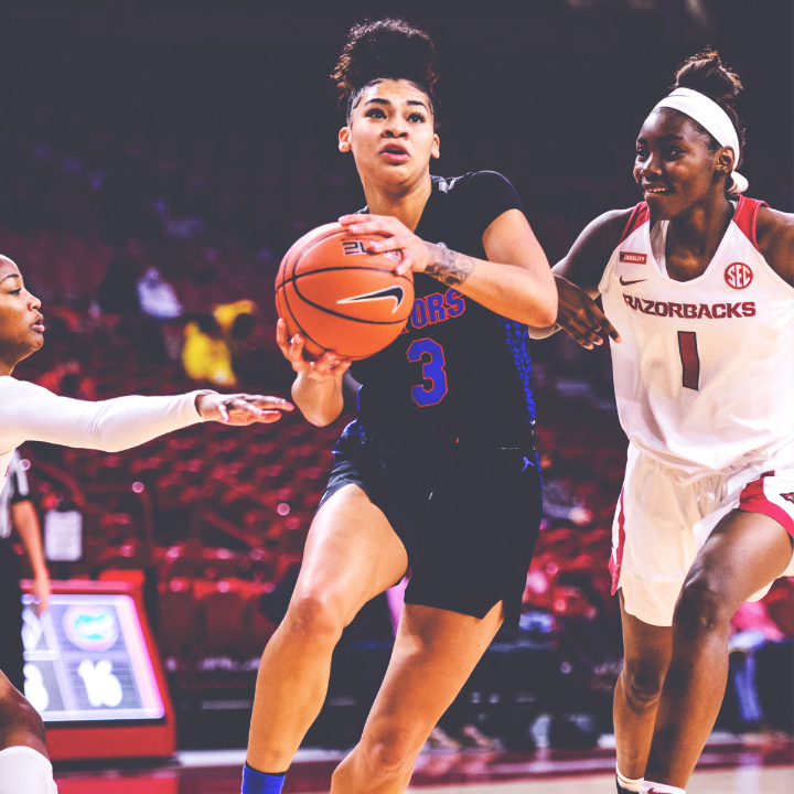 𝟒𝟏 𝐏𝐎𝐈𝐍𝐓𝐒 🔥  @GatorsWBK's @lavbriggs' career-high is the most points scored by an SEC player this season 🐊