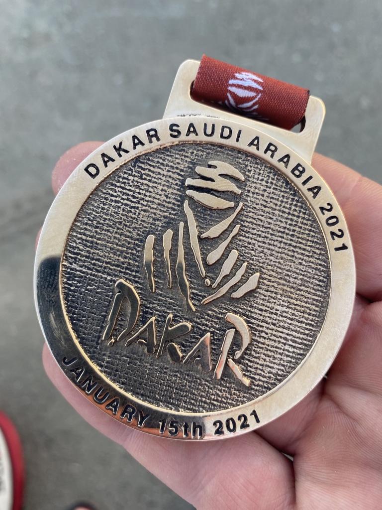 Never give up 💪 #Dakar2021