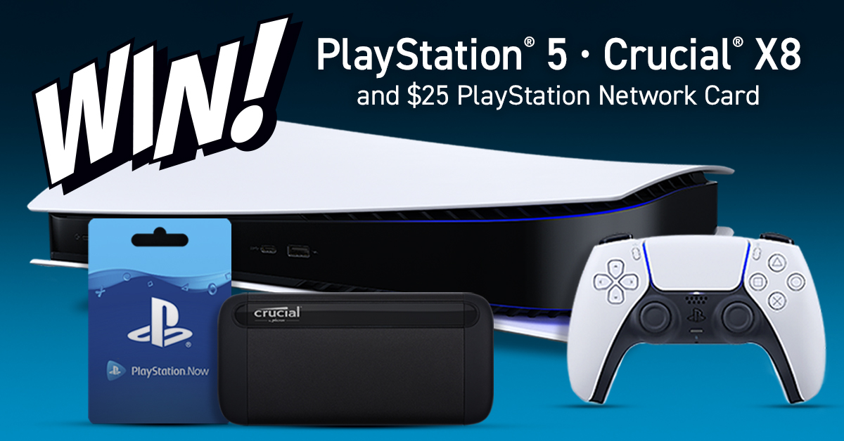 Replying to @CrucialMemory: Got any more of those free PS5s?  #PS5 #Giveaway US only