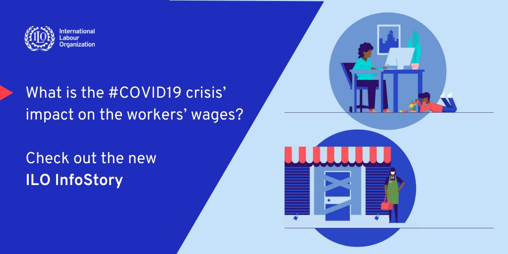 Women are disproportionately affected by the impact of the #COVID19 crisis on total wages.  Check out the new ILO InfoStory:
