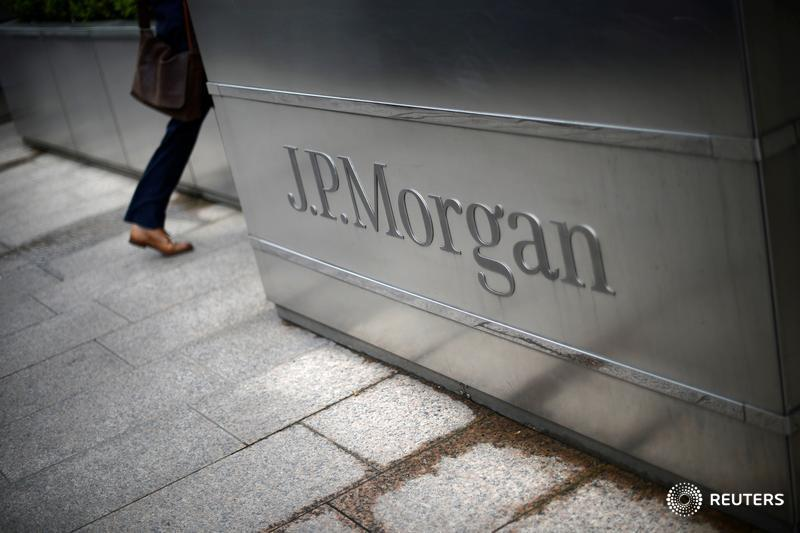 JPMorgan is flush with capital, and raised over $2 trillion for clients in 2020. Yet its loan growth came mainly from government-backed programs and lending to rich clients. Big banks have strong balance sheets they're not really using, says @johnsfoley.