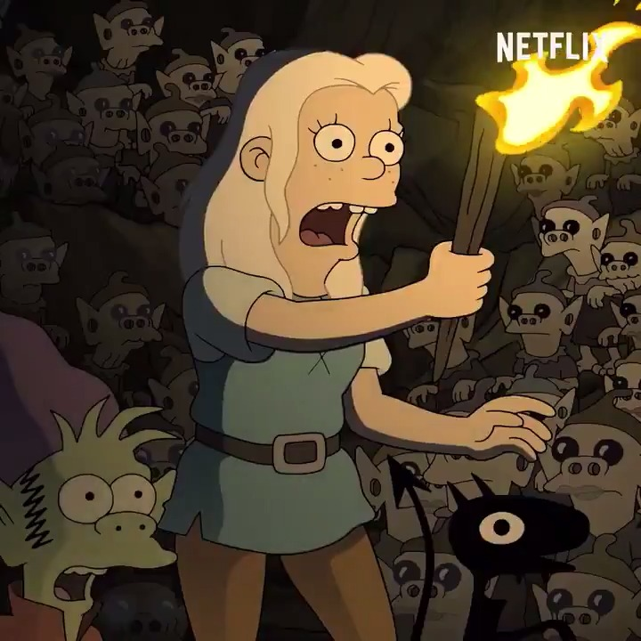 Replying to @NetflixIsAJoke: Destiny calls. Disaster awaits. @disenchantment Part 3 is now streaming.