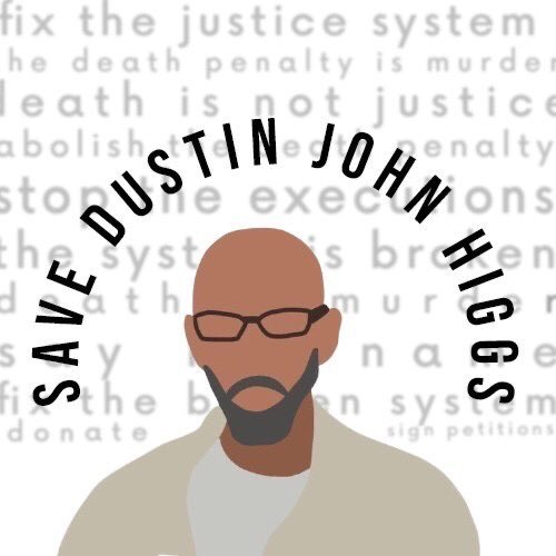 """In the words of MLK Jr, """"In this unfolding conundrum of life and history there is such a thing as being too late."""" Let us not be too late to save Dustin Higgs. Act now! #SaveDustinHiggs"""