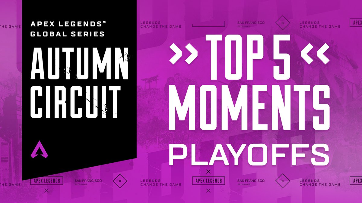 Winter is coming. ❄️   The ALGS Winter Circuit kicks off this Sunday, January 17, with APAC North at 6pm JST, followed by Europe at 5:45pm GMT, and North America at 2:15pm PT. To get you warmed up, here's what went down in the Autumn Circuit Playoffs.