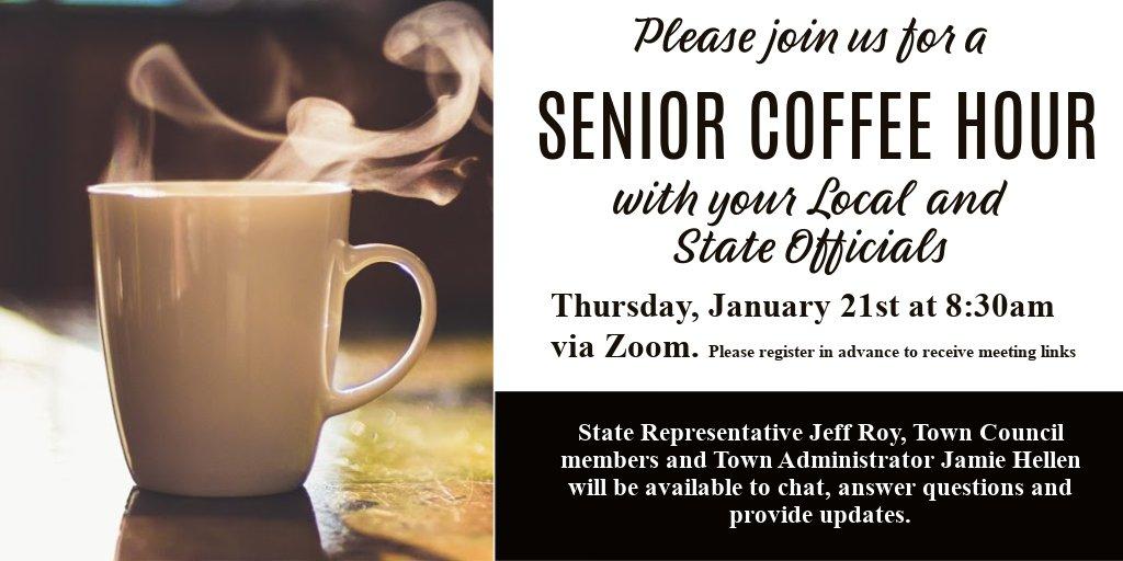 Senior Center Office Hour - Jan 21, 2021