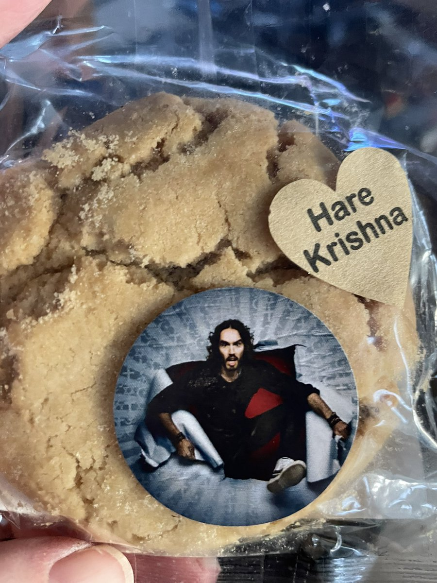 @rustyrockets clearing out old handbags and found this from your show in Northampton - do you reckon it will be ok to eat...? #desperatetimes