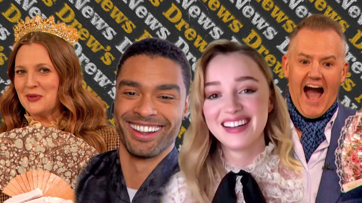 .@Bridgerton's @regejean and Phoebe Dynevor reveal how their families reacted to their steamy love scenes 🔥 Watch more: