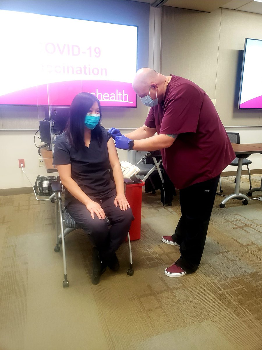 test Twitter Media - CAFP member Terry Krause, MD got her #covidvaccine. Vaccines are safe, effective, and essential to ending the #COVID19 pandemic. https://t.co/UC1Rbxp20P