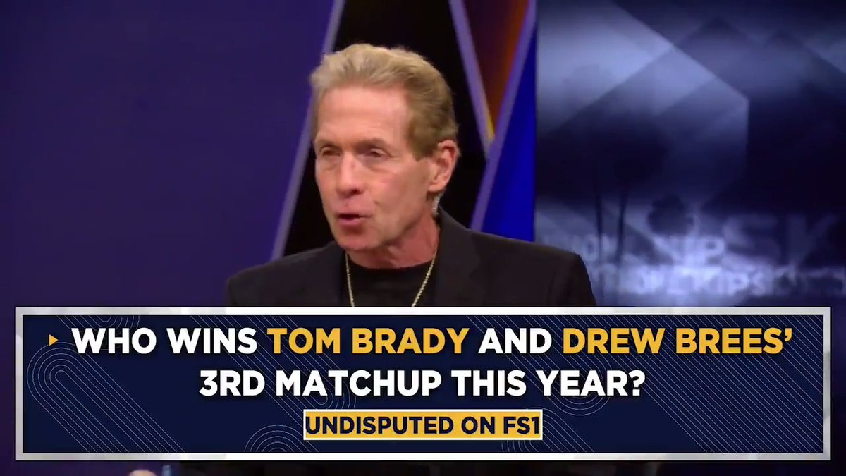 What one expression do I hang my hat on on this show? There's one man in all of sports I do not bet against. And it is the flat-out, undisputed GOAT in the NFL. I'm gonna say Brady pulls this off. More @Undisputed, now on FS1