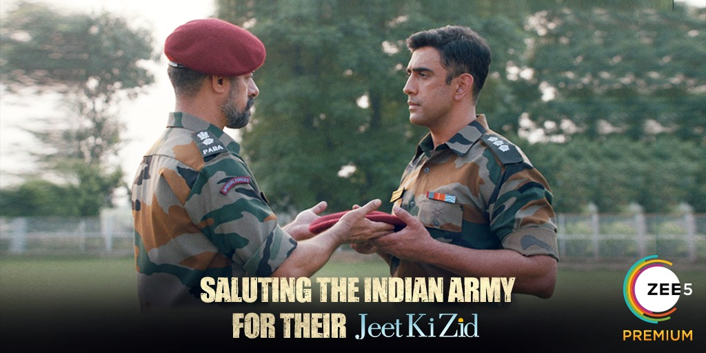 On the occasion of #ArmyDay you can win a chance to meet Amit Sadh. All you have to do is answer 6 questions in our Instagram stories. #JeetKiZid Premieres 22nd January #Zid #ContestAlert
