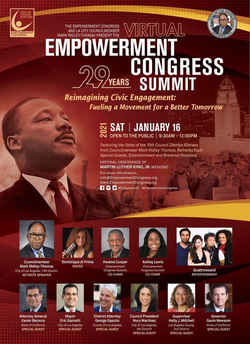 Reminder! The People Concern CEO John Maceri is participating in the 29th Annual Empowerment Congress Summit today! Don't forget to join Breakout 1 at 10:30AM. #ecsummit29