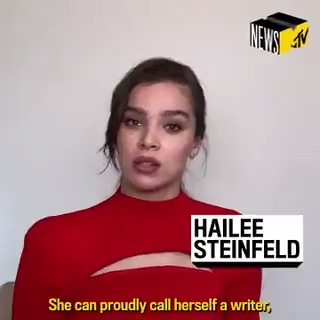 In honor of @Dickinson's new season, @HaileeSteinfeld spoke to @MTVNews about the top 5 ways Emily was ahead of her time! ✍️   Watch the full interview here: